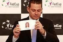Losování semifinále Fed Cupu v Ostravě.