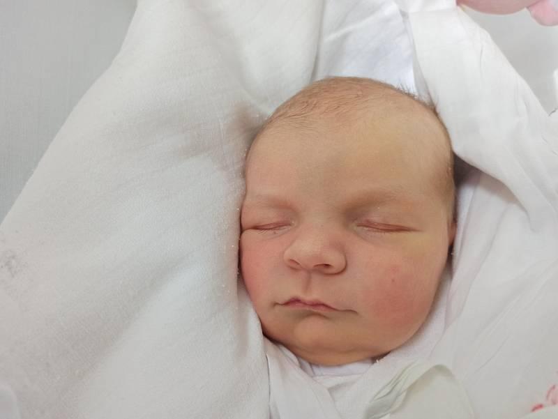 Anna Szymeczková, Návsí, narozena 17. září 2021 v Třinci, míra 50 cm, váha 3570 g. Foto: Gabriela Hýblová