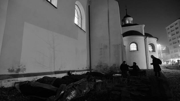 Noc venku v Ostravě. Ilustrační foto.