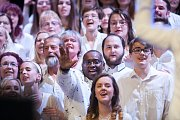 Ostrava zpívá gospel v multifunkční aule Gong v Dolní oblasti Vítkovice.