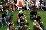 NOVÁ KAROLINA STAGE. Festival v ulicích - koncert kapely Fíha.