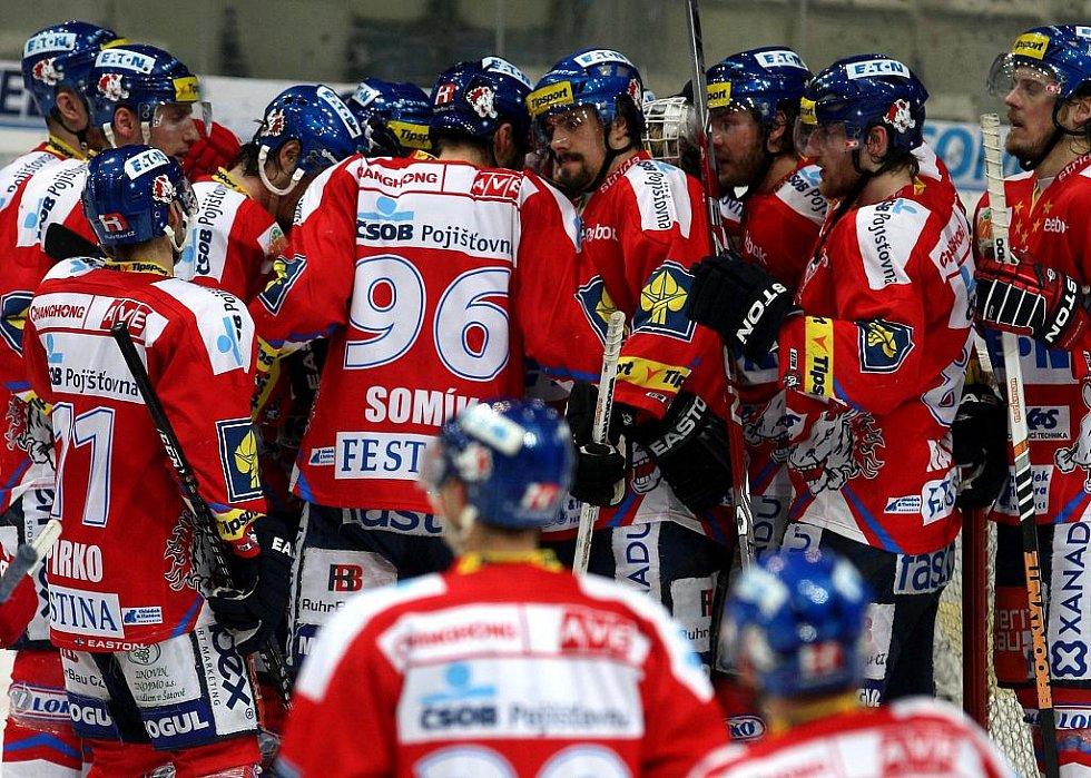 Z utkání HC Vítkovice Steel - HC Eaton Pardubice