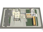 BÍLÝ STÍN. Tak říká architekt Josef Pleskot svému návrhu na přístavbu ostravského Domu umění.