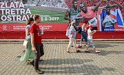 Bouřlivý potlesk sklidil Haile Gebrselassie, který vylepšil světový rekord v hodinovce.