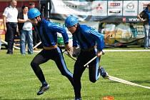 Prestižní soutěž v běhu na sto metrů s překážkami pořádali Pustkovečtí v letech 2001-2006 v na Hlavní třídě v Ostravě-Porubě.