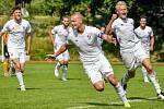 Radovan Lokša vstřelil v letošní sezoně už sedm branek. Je nejlepším střelcem fotbalové rezervy Baníku. Foto: FC Baník Ostrava