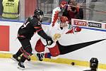 Mistrovství světa hokejistů do 20 let, finále: Rusko - Kanada, 5. ledna 2020 v Ostravě. Na snímku (zleva) Ty Smith a Ilya Kruglov