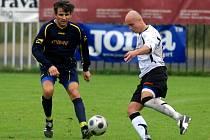 Fotbalový zápas Polanka – Mokré Lazce.