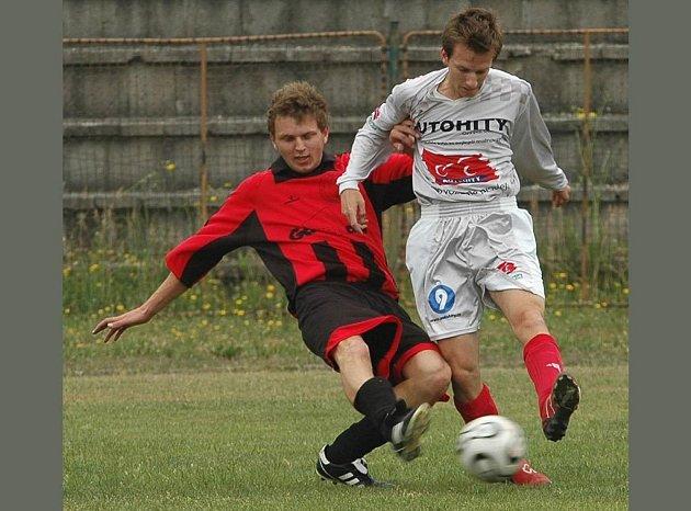 Ilustraní foto ze zápasu fotbalistů Ostrava-Jih