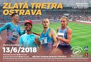 Pozvánka na 57. ročník Zlaté tretry Ostrava.