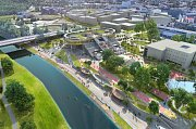 Vizualizace. Takto bude vypadat miliardový areál Ostravské univerzity na Černé louce.