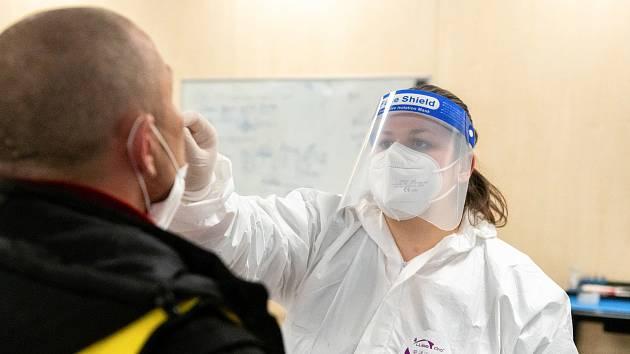 Antigenní testování na covid.