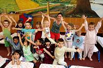 Redaktorka Deníku prožila den s dětmi ze třídy Ježků v Mateřské škole na ulici Josefa Lady v Ostravě.