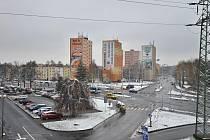 Ilustrační foto. Křižovatka ulic Plzeňská a Horní.