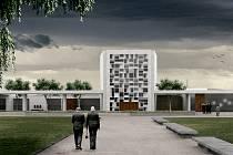 Ostravské krematorium se bude rekonstruovat podle architektonického návrhu ateliéru Meerkatelier zČerveného Újezdu.