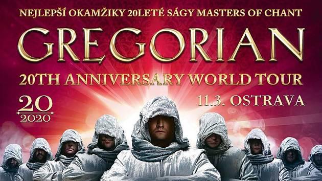 Gregorian míří do Ostravy.