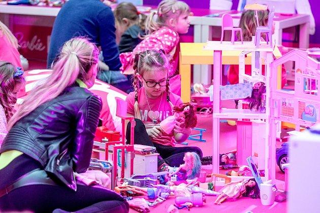 Oslava 60let Barbie, obchodní centrum Nová Karolina, 9.března.2019vOstravě.