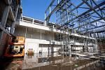 Na Černé louce pokračuje stavba kampusu Ostravské university.