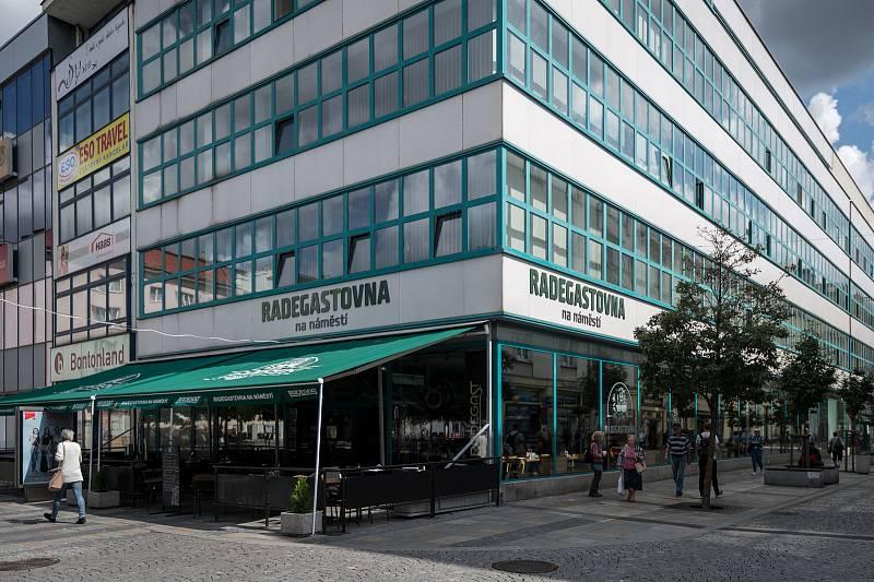 Masarykovo náměstí v Ostravě. Ilustrační foto.