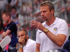 POVEDENÝ TEST. Trenér hokejistů Vítkovic Jakub Petr měl z turné po Švýcarsku dobrý pocit.