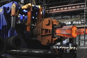 Provoz společnosti Vítkovice Heavy Machinery v Ostravě.