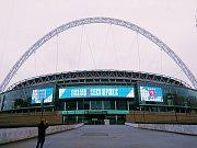 Wembley, 22. března 2019, snímek od fanouška Kamila Sekela.