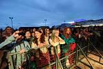 Festival v ulicích u obchodního centra Nová Karolína, den první