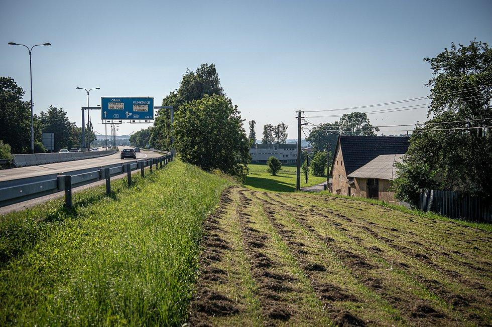 Rudná ulice v městské části Svinov, 8. srpna 2020 v Ostravě.