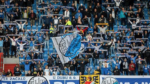 Fanoušci Baníku Ostrava patří k nejlepším v Česku.
