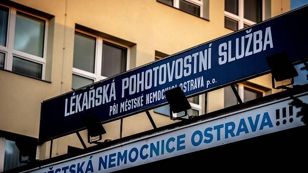 Lékařská pohotovostní služba při Městské nemocnici Ostrava (Fifejdy), 11. února 2020 v Ostravě.