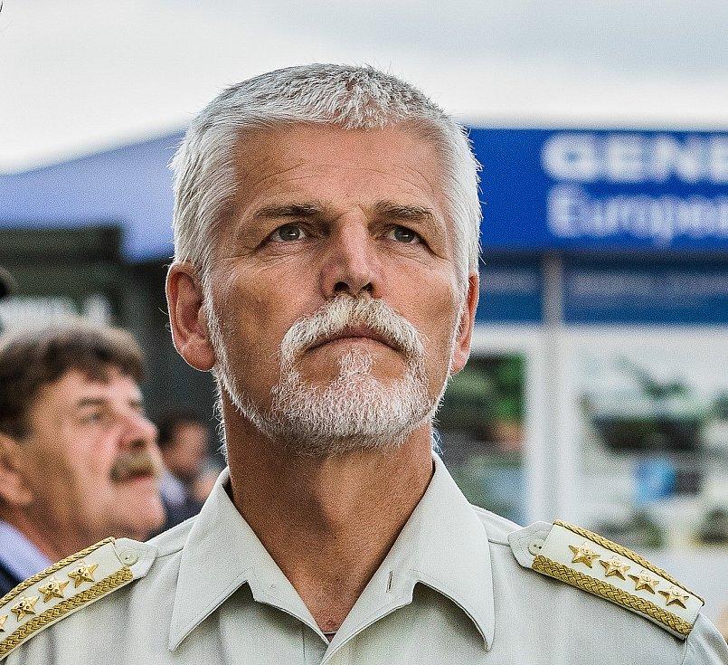 Dny NATO 2018 v Ostravě. Na snímku generál Petr Pavel.