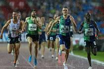 Atletický mítink IAAF World Challenge Zlatá tretra v Ostravě 20. června 2019. Na snímku vítěz Charlie Da´Vall Grice (GER).
