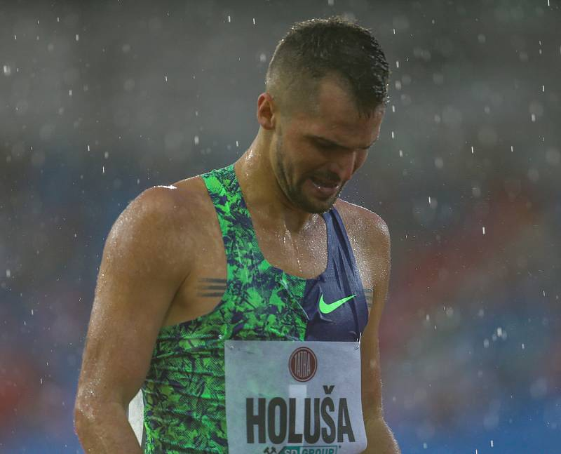 Atletický mítink IAAF World Challenge Zlatá tretra v Ostravě 20. června 2019. Na snímku Jakub Holuša z (CZE).