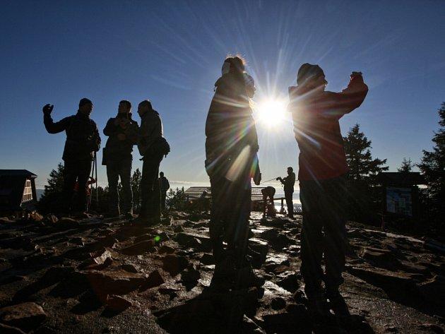 Štědrý den na Lysé hoře 2015.