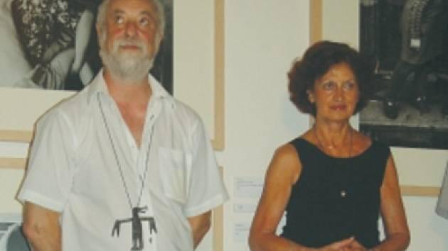 Manželé Šteitovi. Ágnes Štreitová je svému muži v životě oporou.