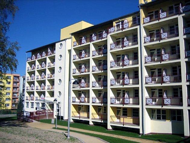 Jedna ze staveb firmy Tchas - domov důchodců v Ostravě-Porubě