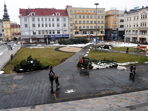 Stánkaři opustili Masarykovo náměstí.