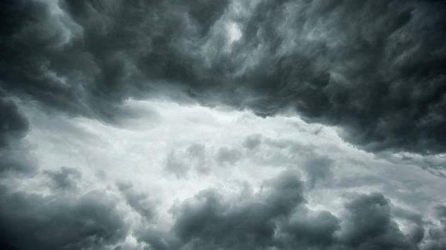 Bouřková mračna (ilustrační snímek)