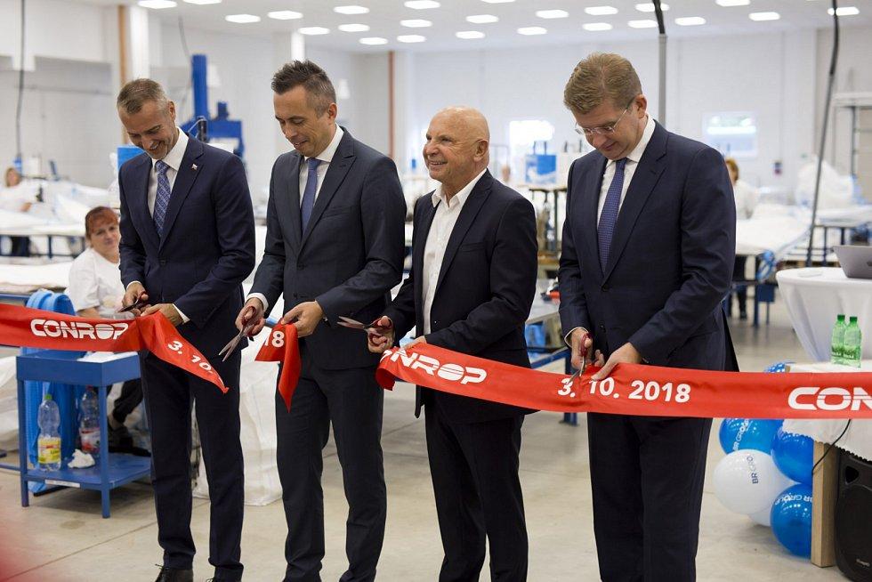 Conrop otevřel nový závod v Trebišově