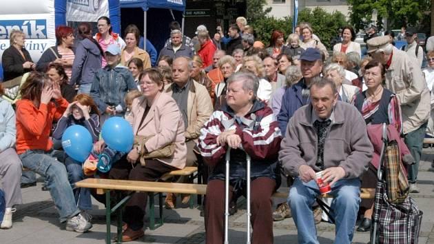 Lidem, kteří přišli na Den s Deníkem do Ostravy-Vítkovic, se líbila i kulturní vystoupení.