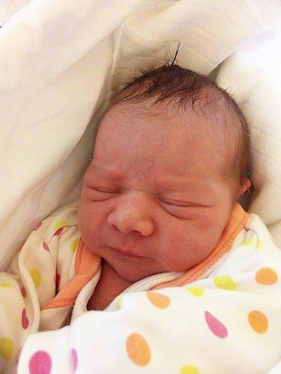 Pavlína Ištoková, Krnov, narozena 4. května 2021 v Krnově, míra 48 cm, váha 3000 g. Foto: Pavla Hrabovská