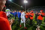 Finále fotbalového poháru MOL Cupu, Baník Ostrava - Slavia Praha 22.května 2019 v Olomouci. Na snímku Patrizio Stronati z Baníku Ostrava.