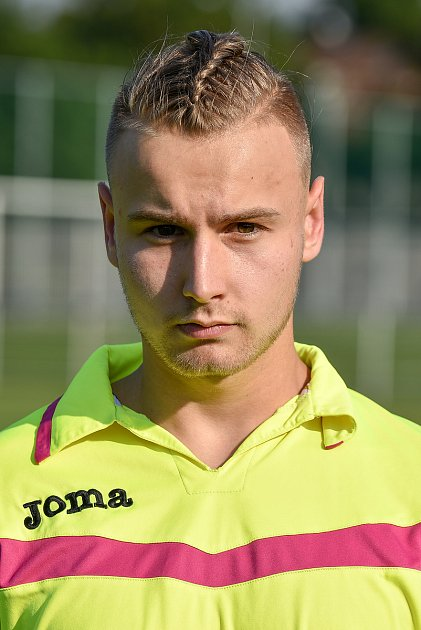 Fotbalový klub TJ Unie Hlubina, 7.srpna 2020vOstravě. Matěj Nerud, brankář