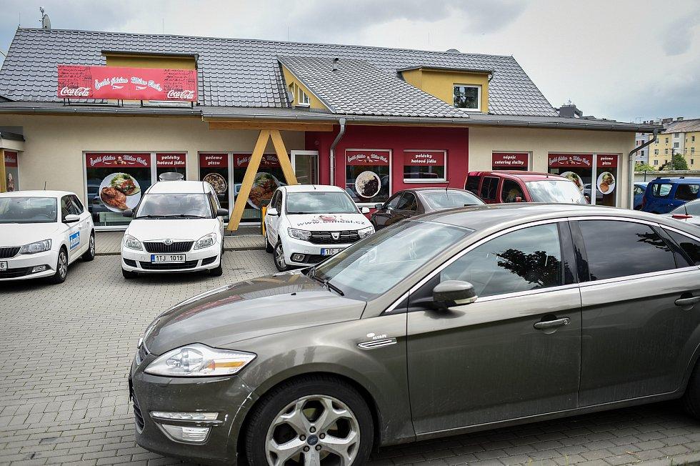 Česká jídelna Milan Babor v Ostravě.