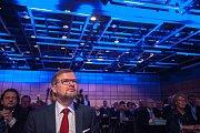 28. kongres ODS v ostravském hotelu Clarion, sobota 13. ledna 2018. Petr Fiala byl zvolen předsedou ODS.