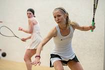 28. Mistrovství ČR ve squashi, finále žen: Anna Serme - Eva Feřteková, 8. března 2020 v Ostravě.