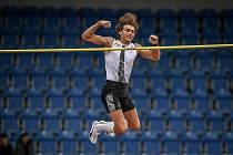 Zlatá tretra, atletický mítink kategorie Continental Tour - Gold, 19. května 2021 v Ostravě. Armand Duplantis (SWE), skok o tyči muži.