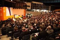 37. sjezd ČSSD v multifunkční aule Gong v Ostravě