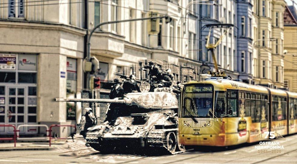 PO NÁDRAŽNÍ tehdy jezdily tanky, dnes tramvaje.