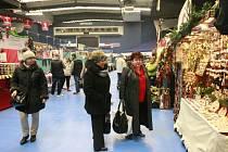 Vánoční trhy v Ostrava Aréně.